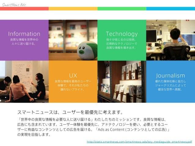 SmartNews Ads テクノロジーの力で「Ads as Content」の実現を 目指す広告プラットフォーム