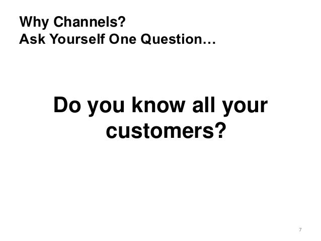 How to make marketing channel strategy work for you.