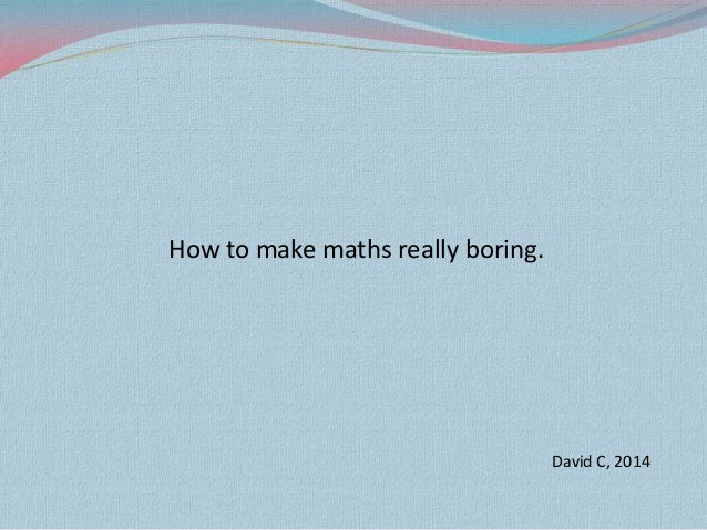 how to make a net math