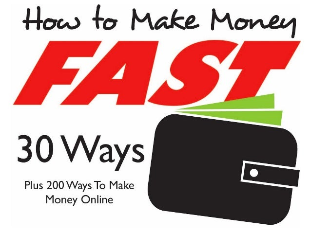 How to make money fast is at the forefront of many people's minds. You don't need to be in dire straits or a victim of the...