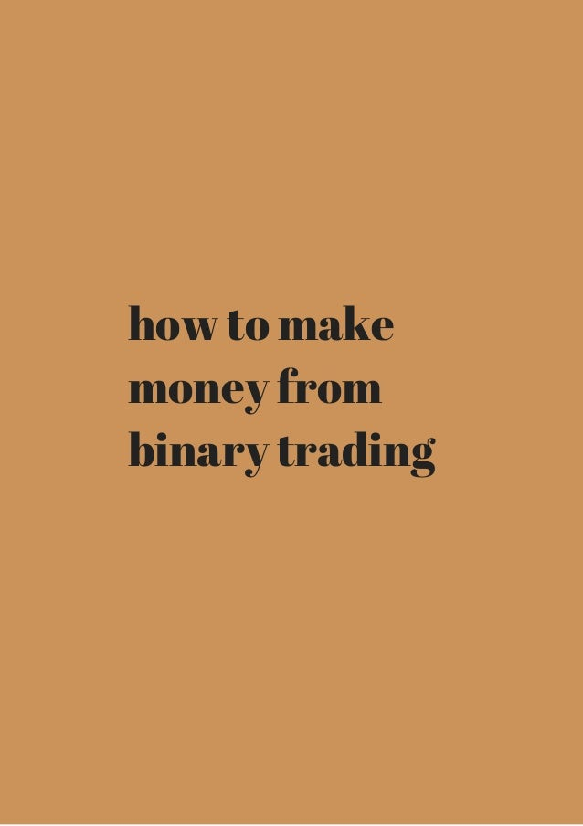 Online binary option indicators