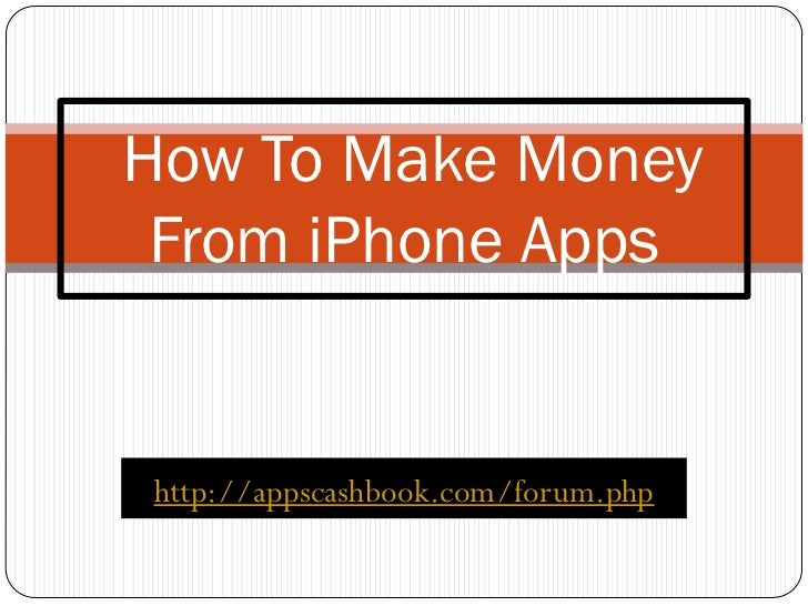 how to make money through apps