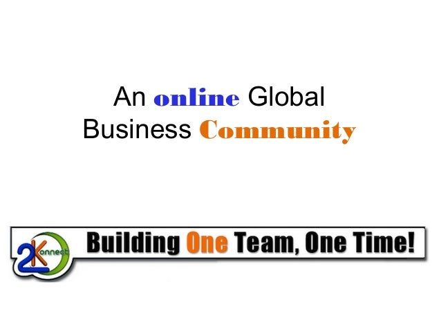 An online Global Business Community
