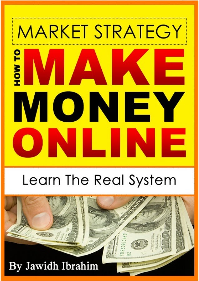 I am sure that you are a lucky person. You got 100% discount to purchase this market strategy 'How to Make Money Online' e...