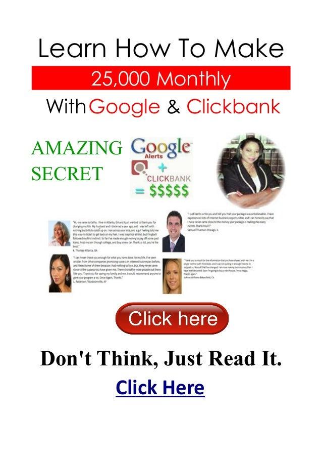 How to make money online e book