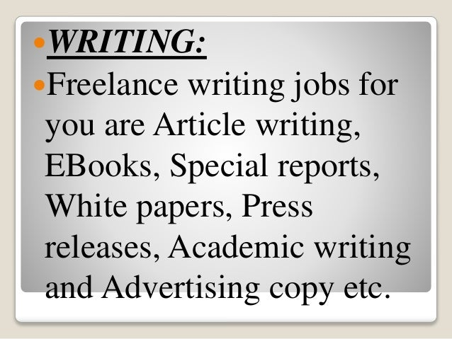 Article Writing – How To Make Money Writing Articles
