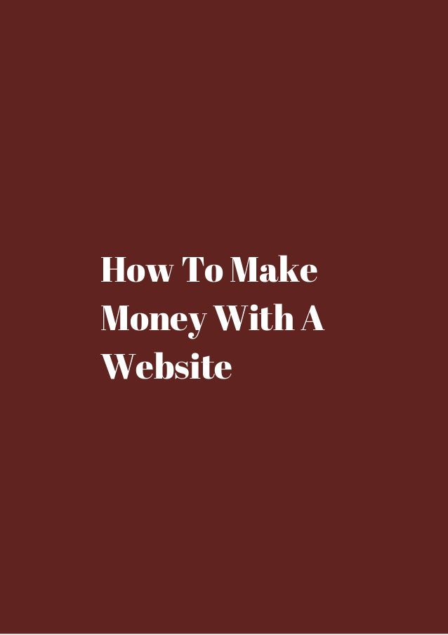 How to make money with dating sites