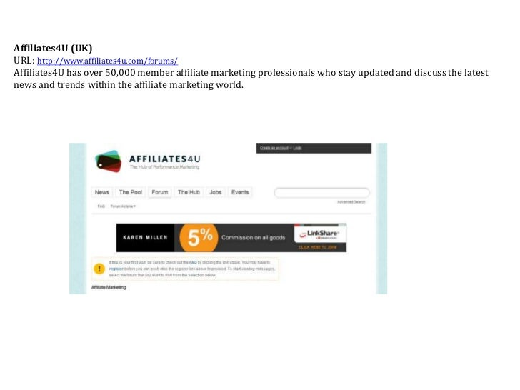 Affiliate Marketing Amazon Forum