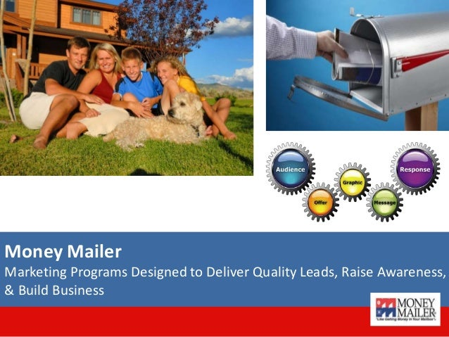 Money Mailer Marketing Programs Designed to Deliver Quality Leads, Raise Awareness, & Build Business