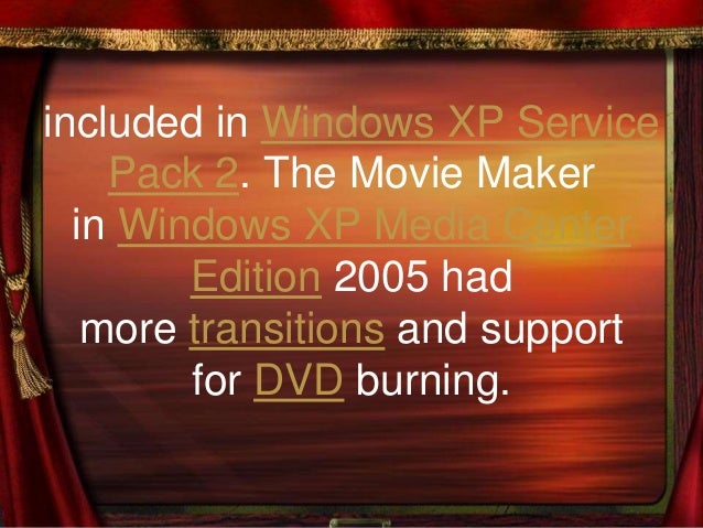 Movie maker vista edit dvr-ms