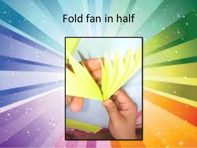 How to make paper fans flowers fold your paper like fan 7 mightylinksfo