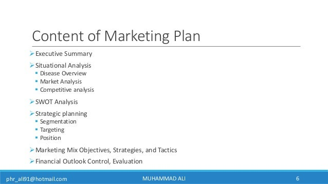 How To Make Pharmaceutical Marketing Plan