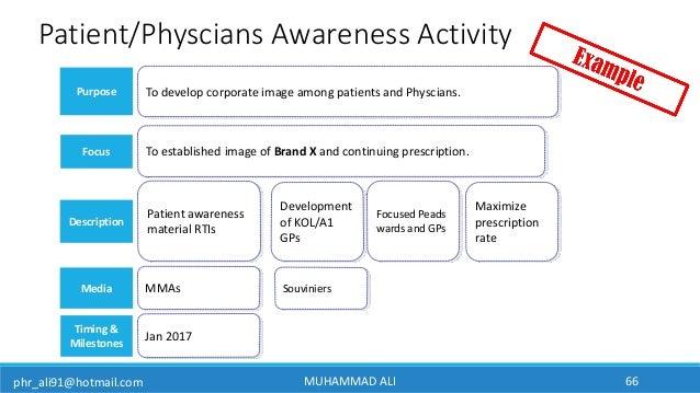 phr_ali91@hotmail.com Purpose Media Description MMAs Patient awareness material RTIs To develop corporate image among pati...