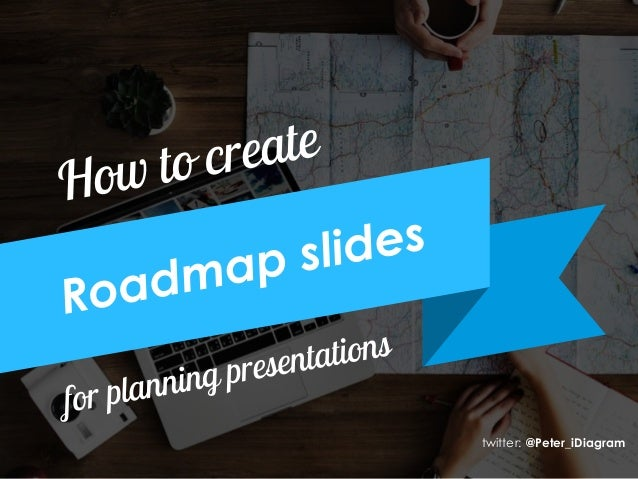How To Create Roadmap Slide From Scratch