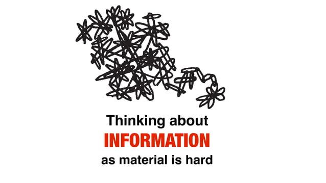 Context Content Information ≠ Content
