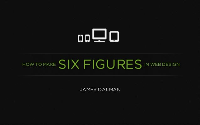 How to Make Six Figures in Web Design