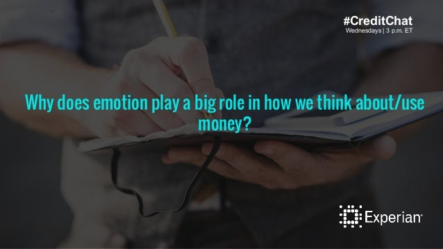 Wednesdays   3 p.m. ET #CreditChat Wednesdays   3 p.m. ET Wh tax mistakes that are easy to make?Why does emotion play a bi...