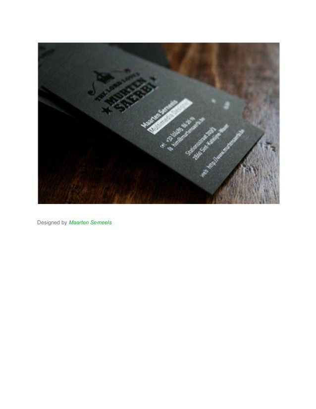 How to Make Stunning Black Business Cards