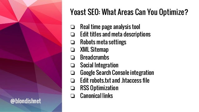 how to make the most out of yoast seo