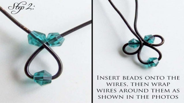 How to make twisted beaded pendant diy jewelry making tutorial aloadofball Image collections