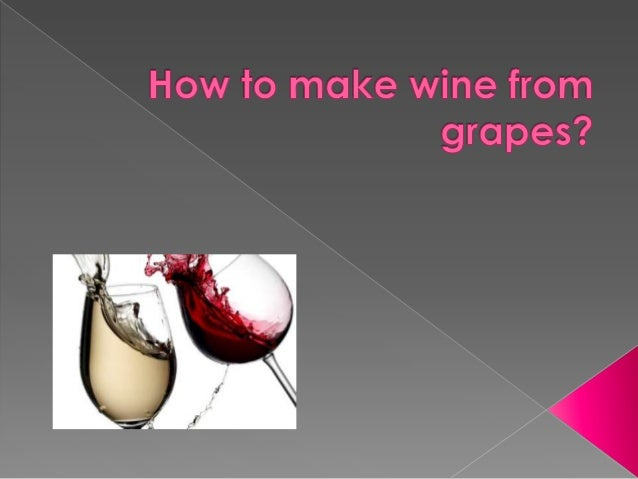  Making homemade wine is not so difficult.  However, you should know a few things before trying it.  Here are a few thi...