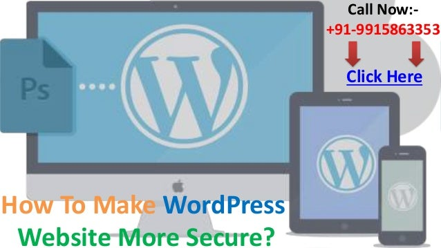 How to make wordpress website more secure