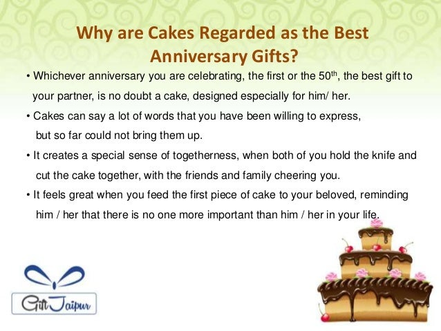 how to make your anniversary special with the finest cake
