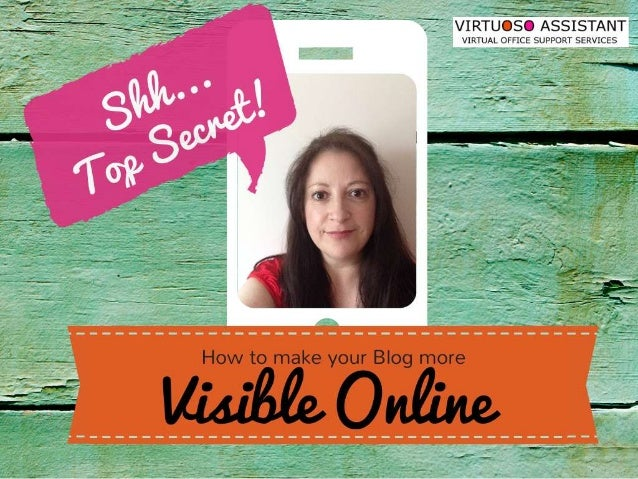 How to Make your Blog More Visible Online