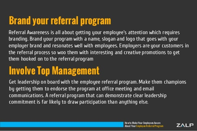 how to make your employees aware about your employee referral program 4 638