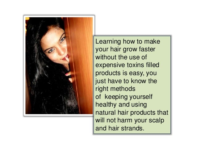 how to help your hair grow faster