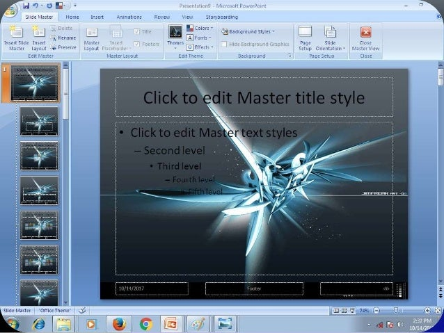 make your own powerpoint background