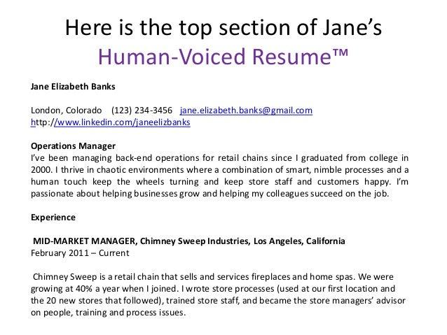 Human resume