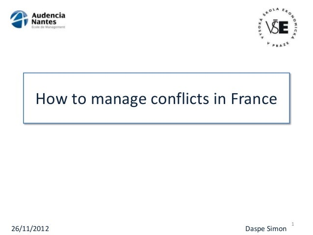 """how to manage and handle conflict Here's how to gracefully answer the question without blowing your interview  """"how would you handle a conflict at  and i had to manage team."""