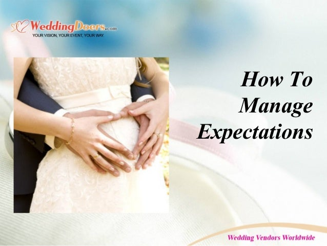 How To Manage Expectations