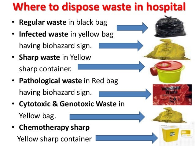 How To Manage Hospital Waste