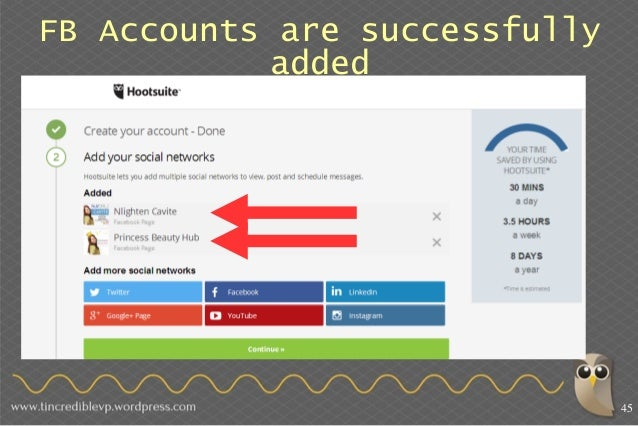 How to manage social media platforms with hootsuite lets add instagram 46 ccuart Gallery