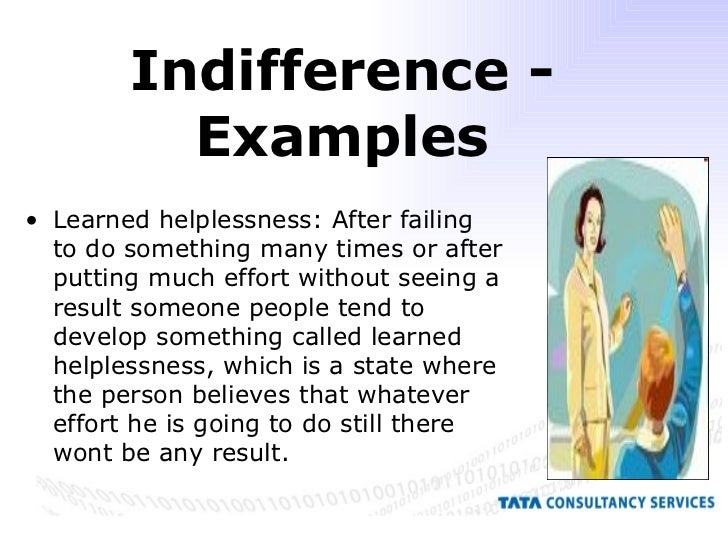 How To Manage The Indifference