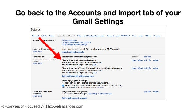 how to add a domain email to gmail