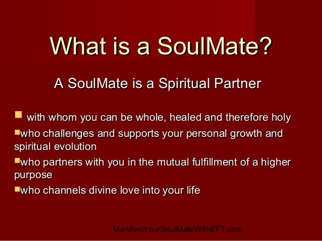 Your Manifest How Soulmate Fast To