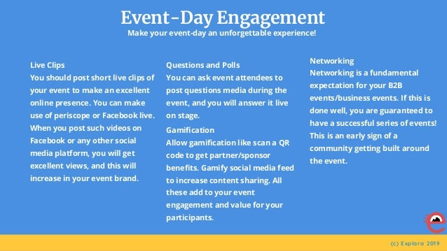 How to market an event?