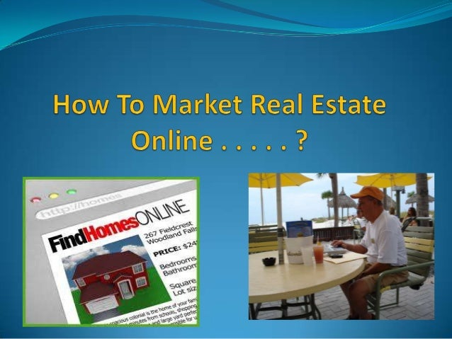 Marketing Real Estate Online Has Exploded . . . .  The Realtors That Grasp This New  Technology Are Positioning Themselve...