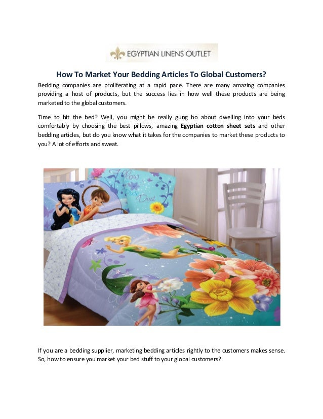 How To Market Your Bedding Articles To Global Customers? Bedding Companies  Are Proliferating At A ...