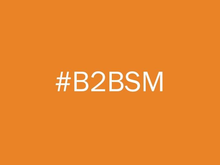 B2B SOCIALMEDIA ISONLY ONE PIECE