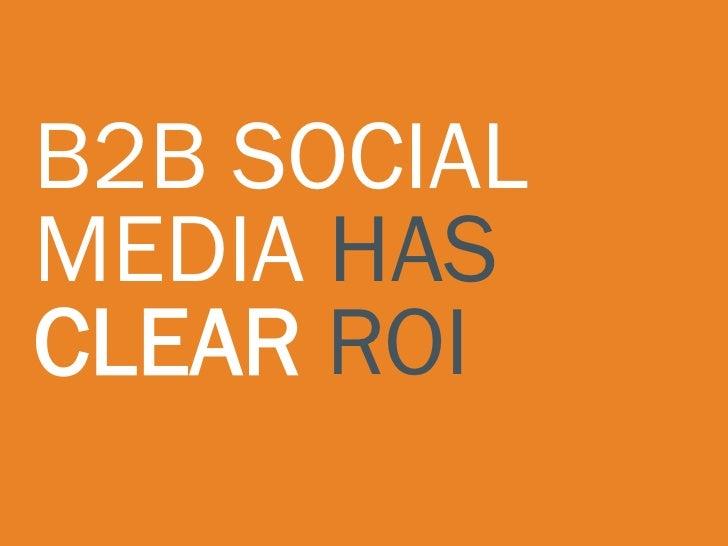 """         Social media                 amplifies the                 effectiveness of                 offline marketing.  ..."