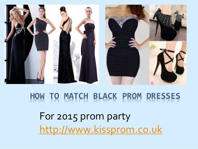black prom dresses for 2015 prom party