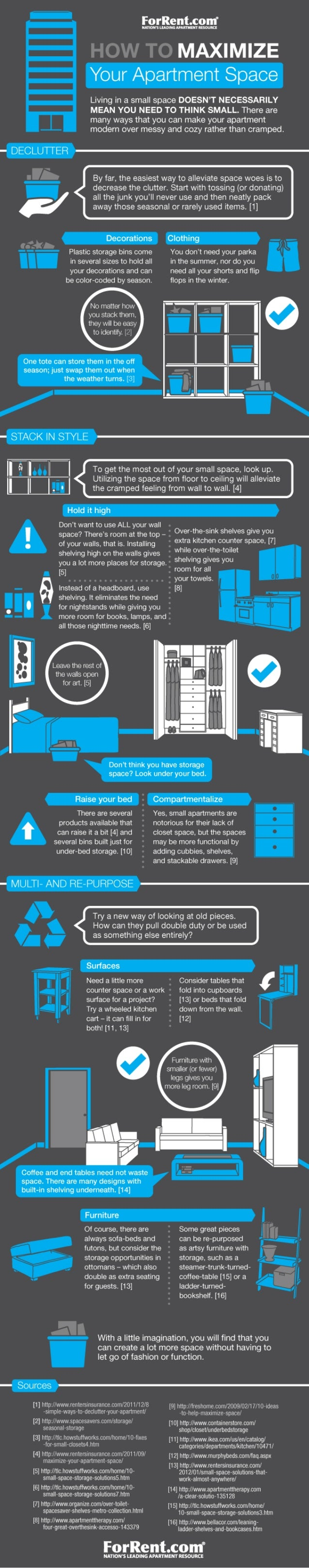 How to maximize your apartment space