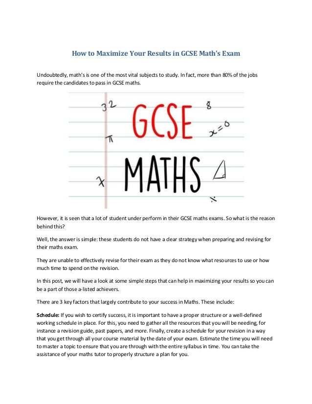 Gcse maths terminal paper revision professional dissertation introduction proofreading services