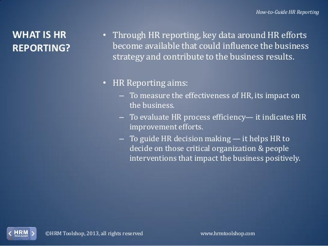 HR Performance Management - How to measure and report on your hr perf…