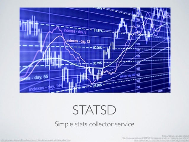 STATSD  Simple stats collector service  https://github.com/etsy/statsd  http://codeascraft.com/2011/02/15/measure-anything...