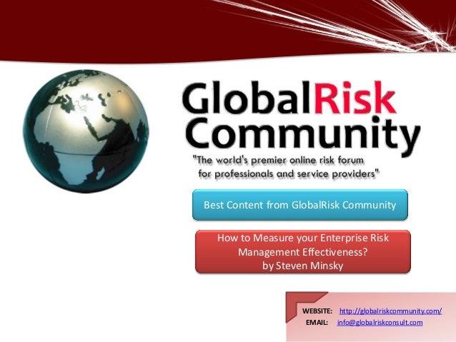 WEBSITE: http://globalriskcommunity.com/ EMAIL: info@globalriskconsult.com WEBSITE: http://globalriskcommunity.com/ EMAIL:...